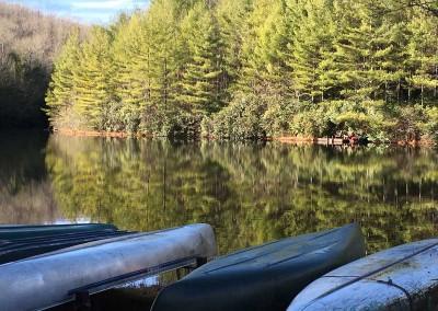canoes-lake